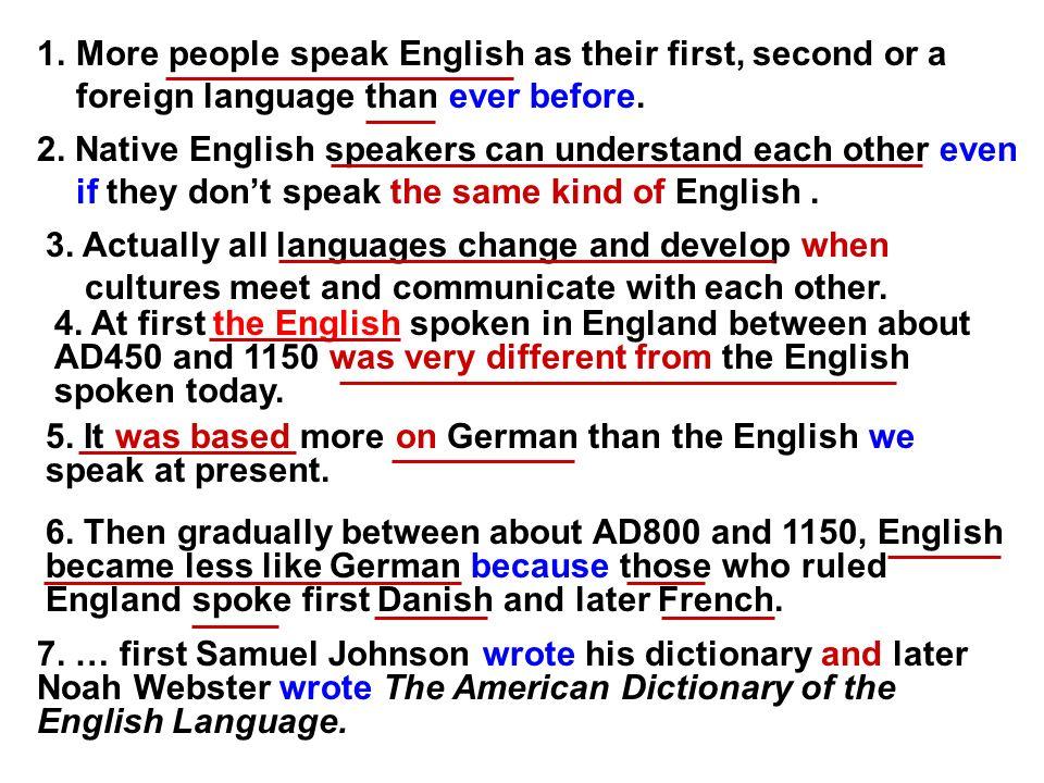 german people speaking english