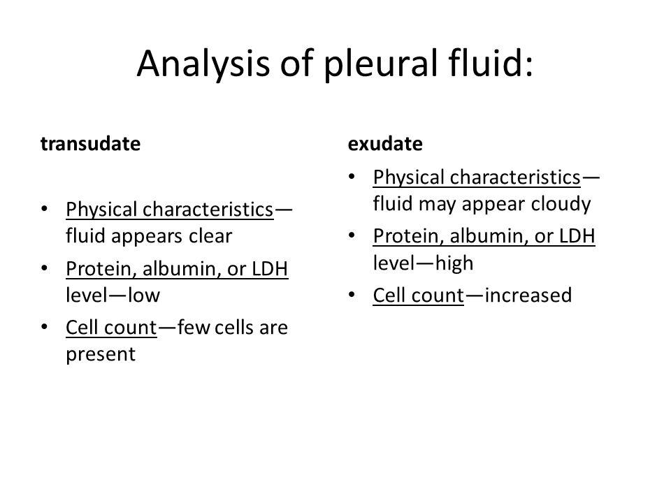 Pleural Effusion Analysis Ppt Video Online Download
