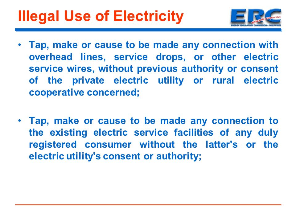 RA 7832 and its IRR (Anti-Electricity Pilferage Law) - ppt