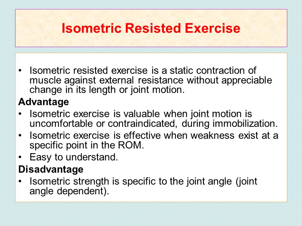 RESISTANCE EXERCISE RESISTANCE EXERCISE RESISTANCE EXERCISE