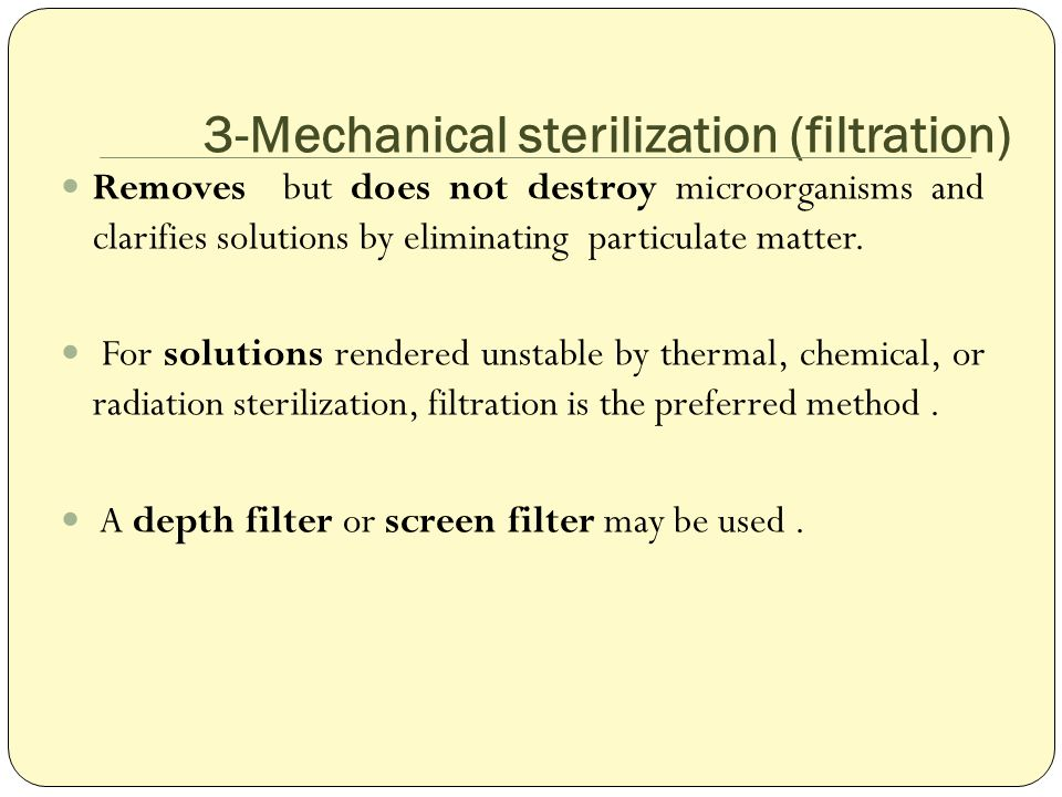 Sterilization methods and equipment - ppt video online download