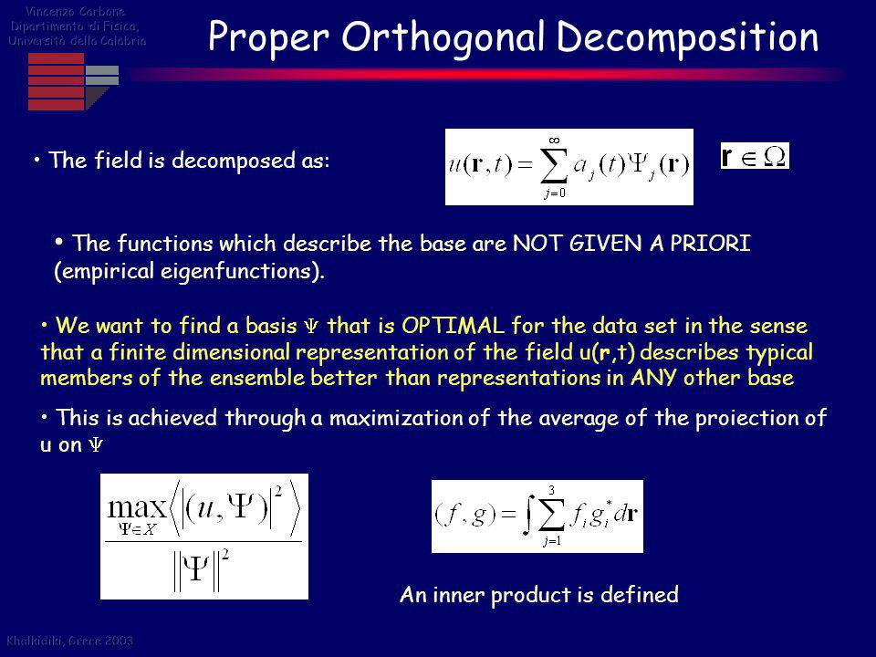 Proper Orthogonal Decomposition