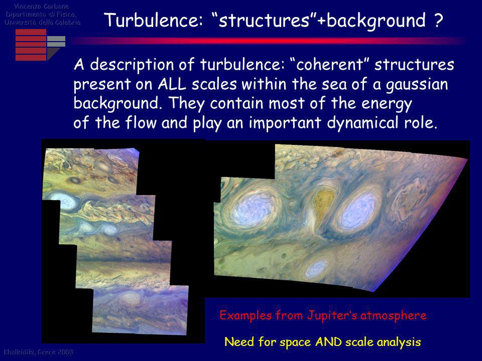 Turbulence: structures +background