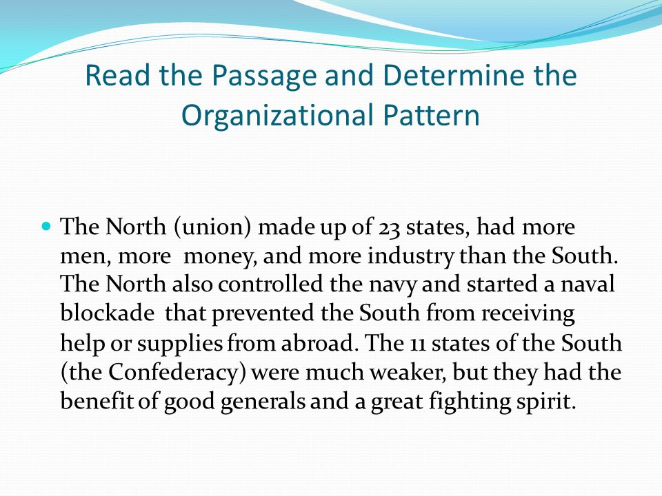 How Do Readers Identify Organizational Patterns In Text Ppt Video Unique Spatial Organizational Pattern