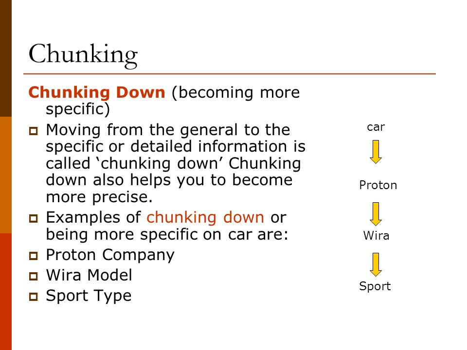 Skills -Chunking-  - ppt video online download