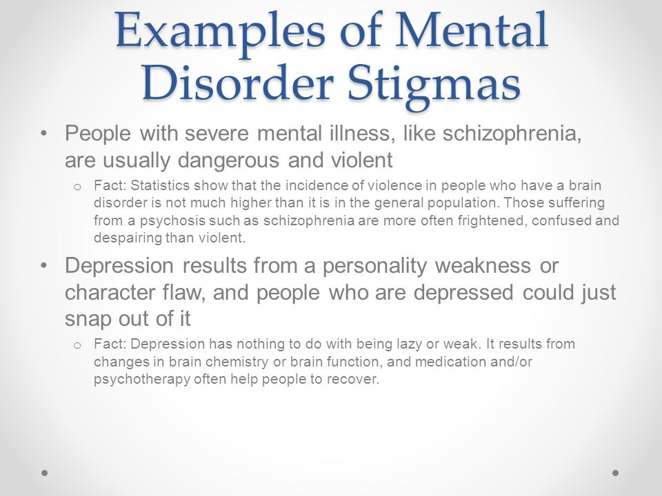 Chap 5 Less 2 Mental Disorders Ppt Video Online Download