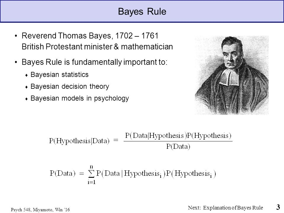 Bayes Theorem, a k a  Bayes Rule - ppt download