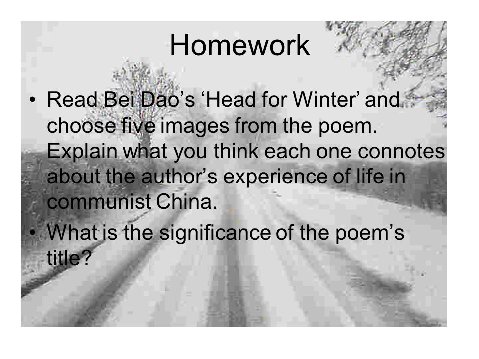 bei dao poems analysis