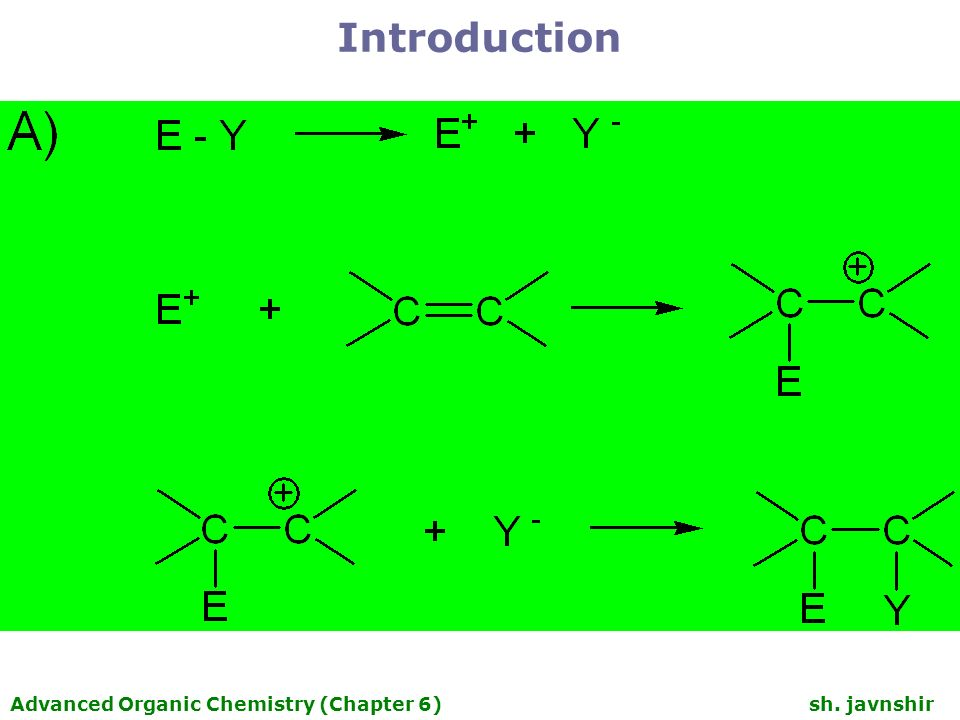 Chapter 6 Polar addition and Elimination Reaction  - ppt