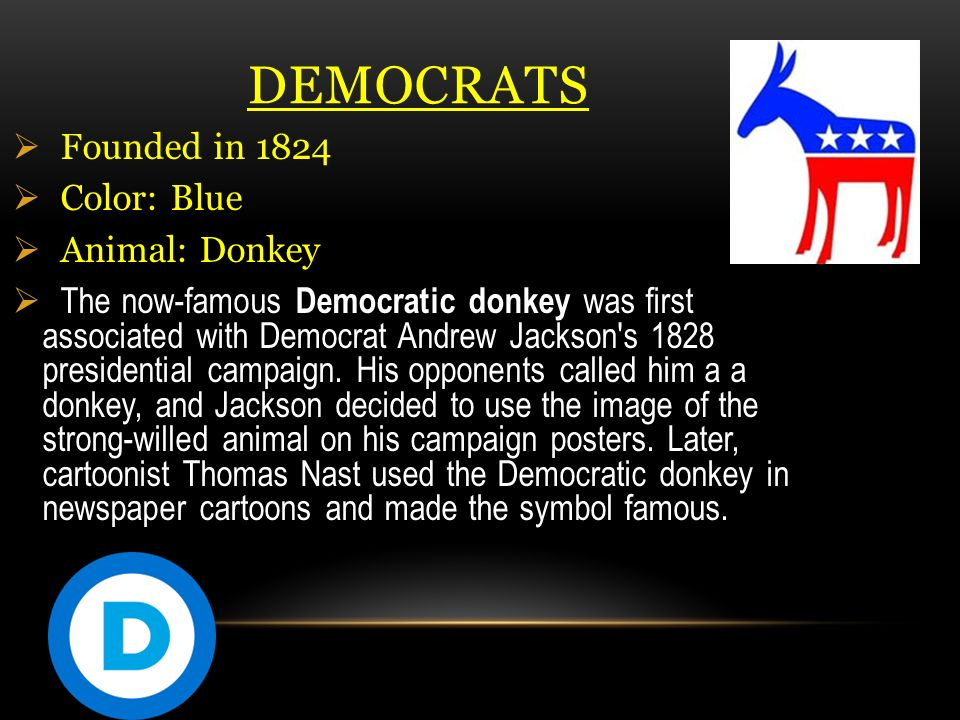 Page Political Parties Democrats V Republicans Ppt Video