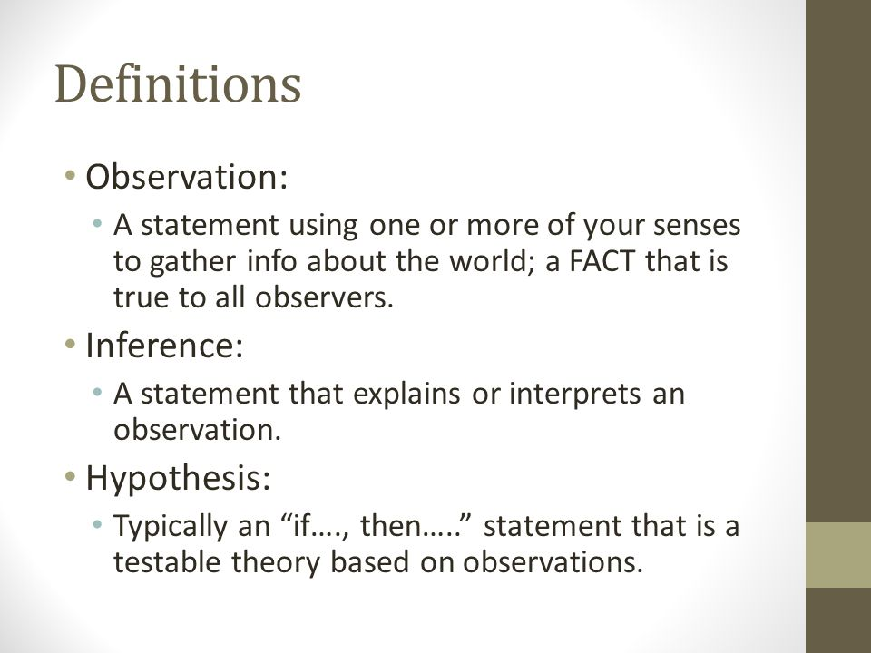 Observations And Inferences Ppt Video Online Download