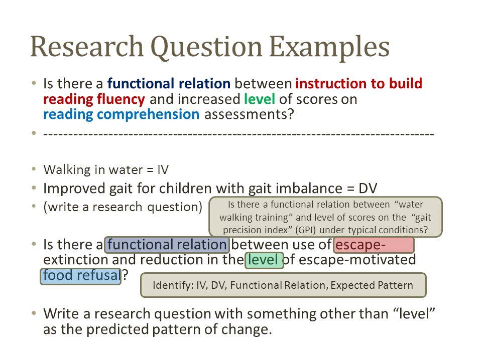 how do i write a research question