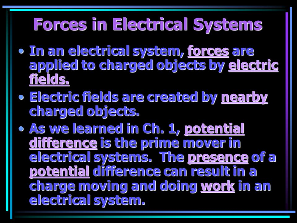 Work in Electrical Systems - ppt video online download