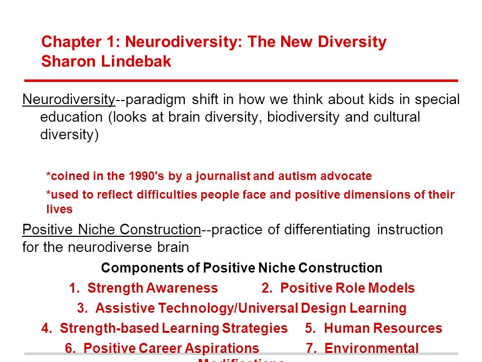 Neurodiversity And Differentiation >> Neurodiversity In The Classroom Strength Based Strategies To Help