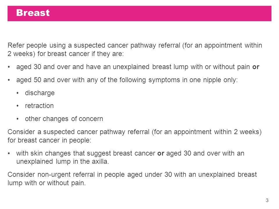 Nice Ng12 Suspected Cancer Recognition And Referral Tumour Group Summary July Ppt Download