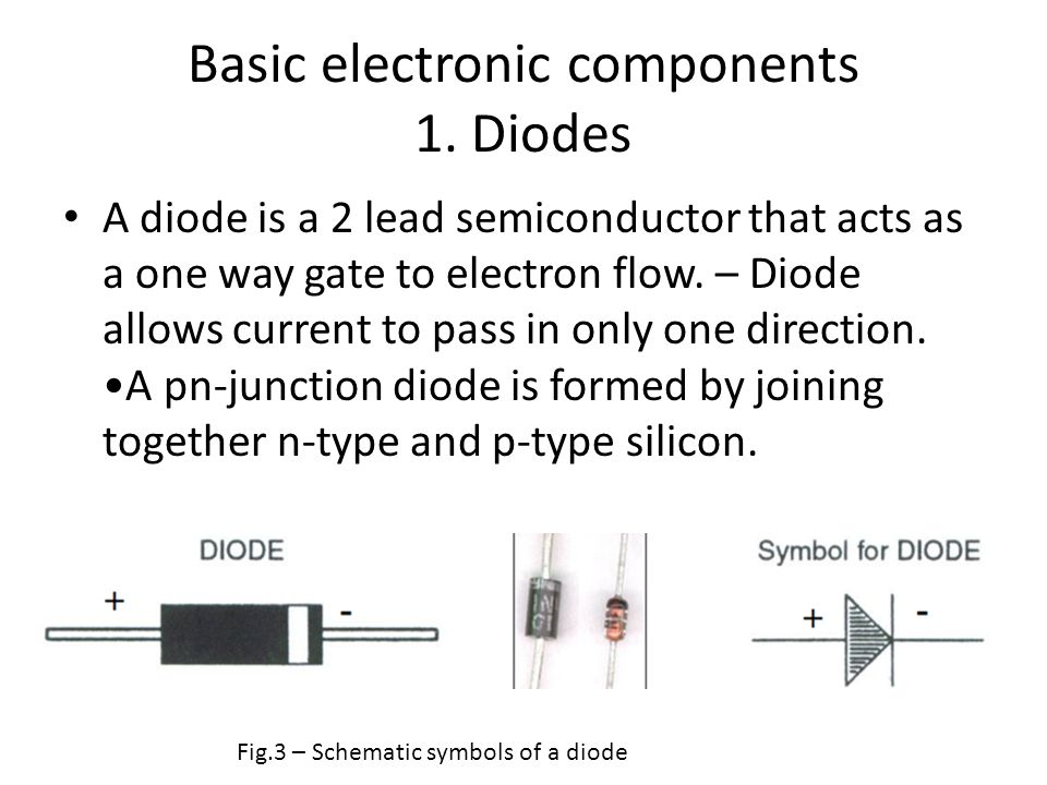 Basic electronic components A review - ppt video online download