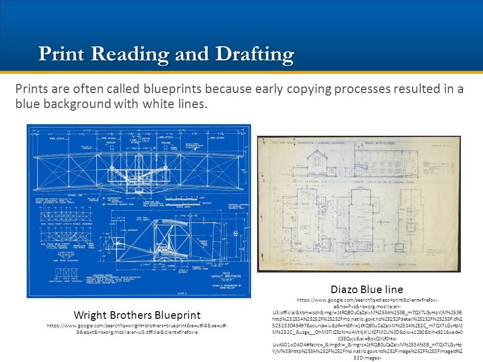 Prints the language of industry ppt download 7 print reading and drafting malvernweather Images