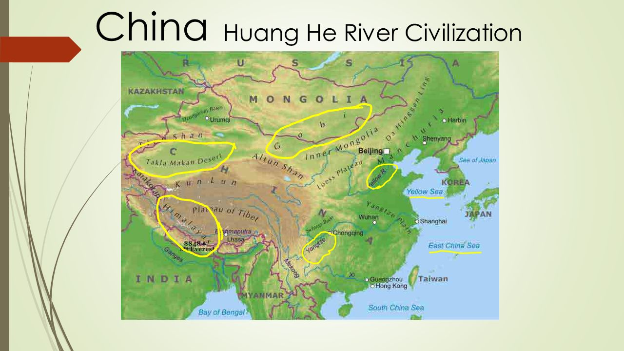 Huang He River Valley Ancient China Ppt Video Online Download