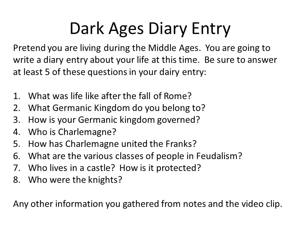 The Dark Ages Ppt Video Online Download