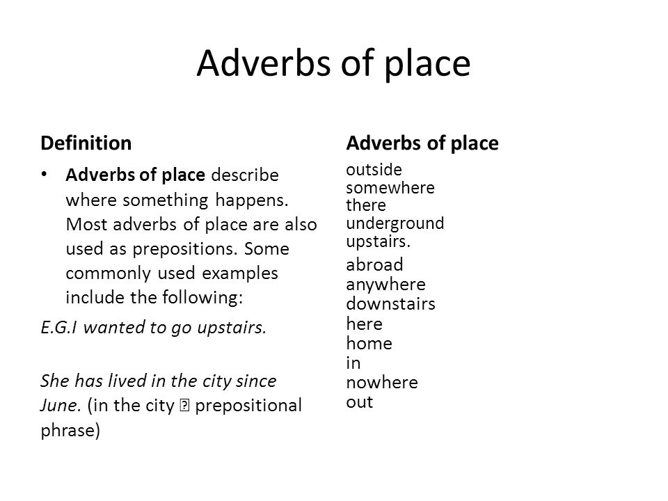Adverbs Ppt Download