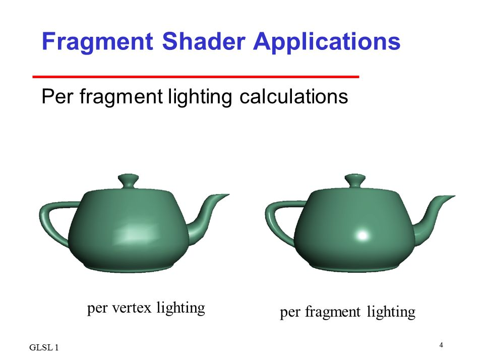 OpenGL Shading Language - ppt video online download