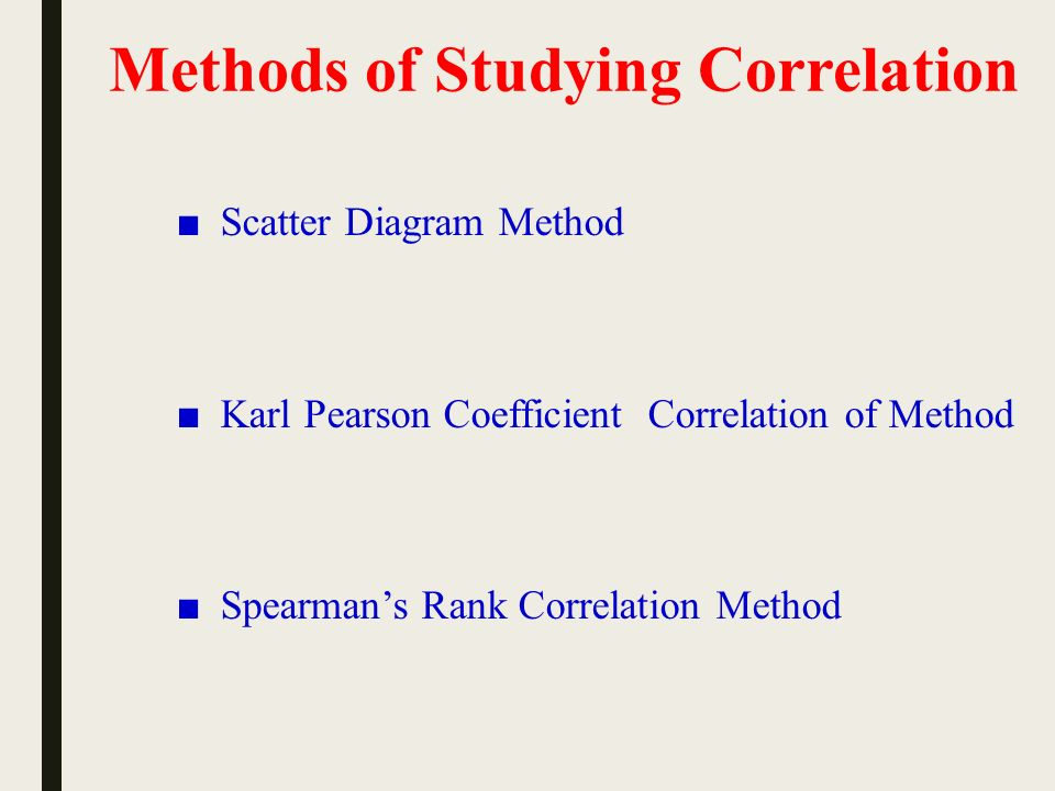 Correlation Analysis Ppt Download