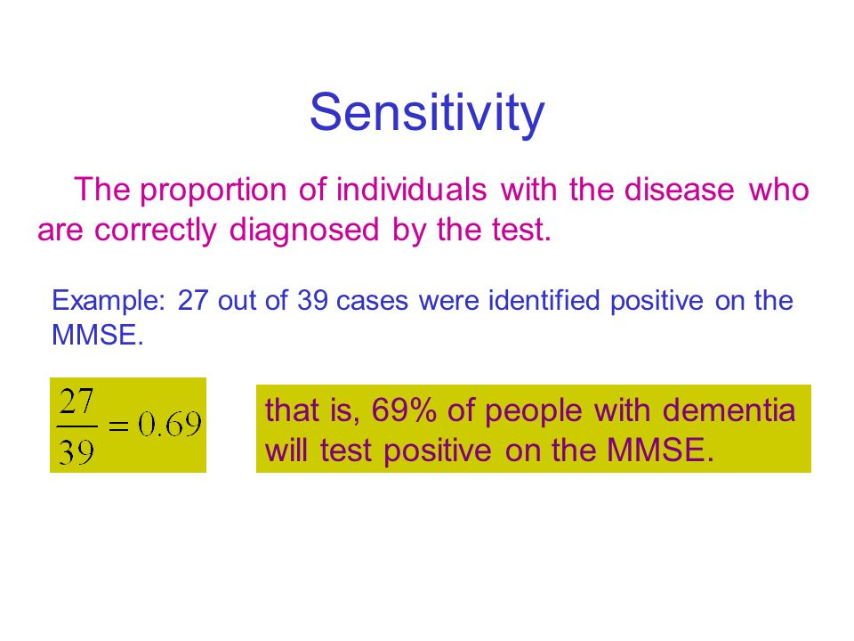 mmse test example
