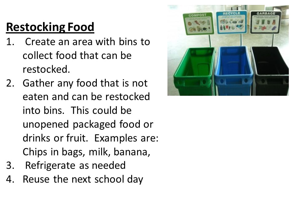 How to reduce food waste in schools - ppt video online download