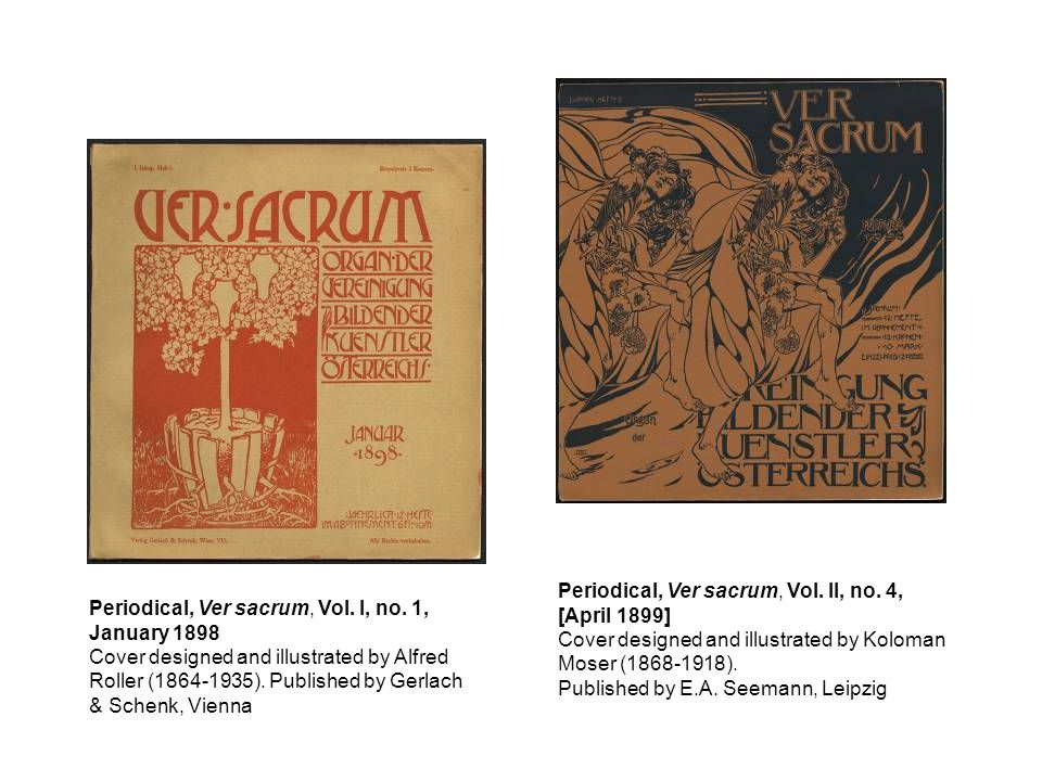 Periodical, Ver sacrum, Vol. II, no. 4,