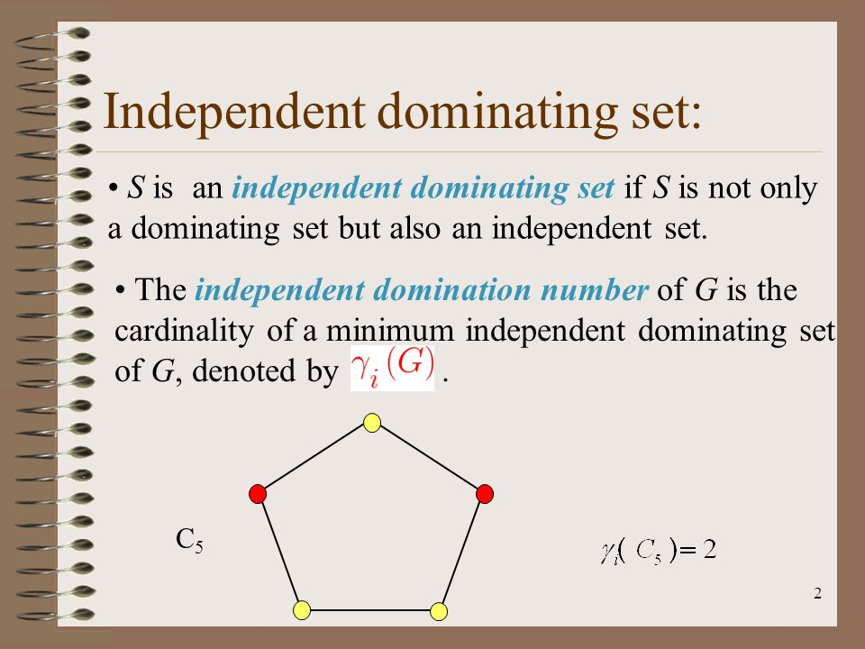 Independant domination graph theory foto