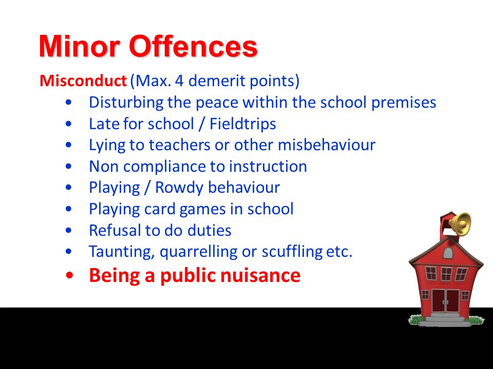 public nuisance offences
