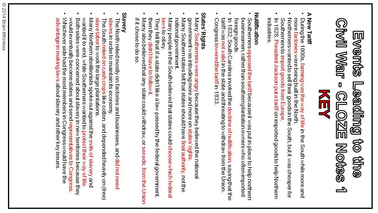 Civil War Comprehension Worksheets Www Topsimages Com