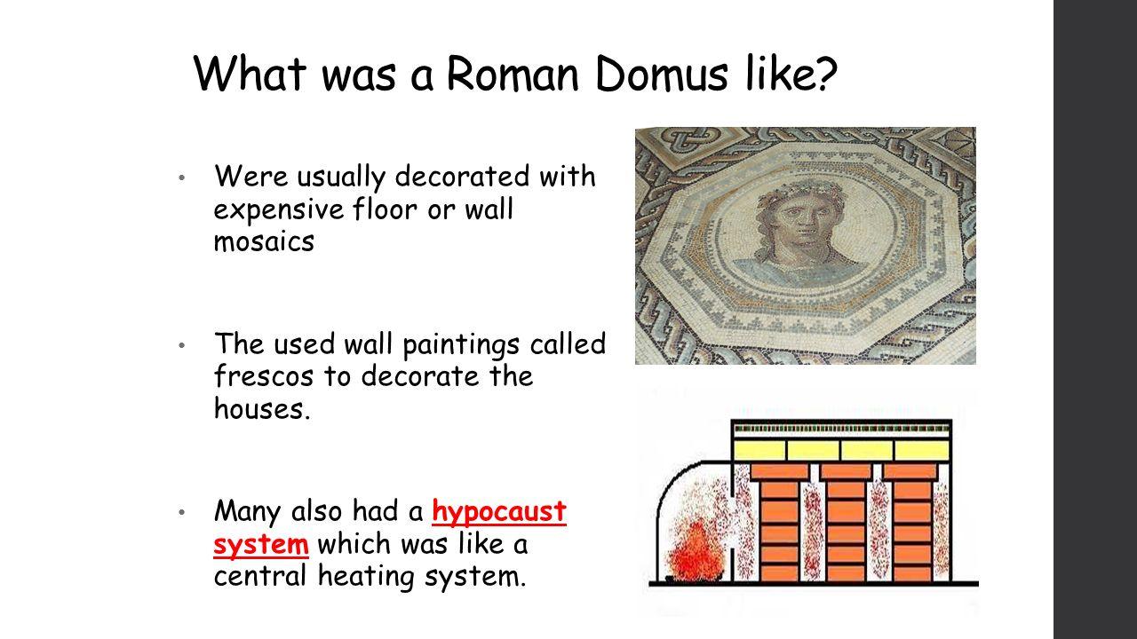 what were roman houses like
