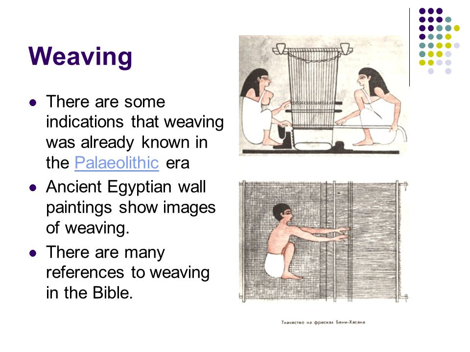 Weaving A textile or fiber art  - ppt video online download