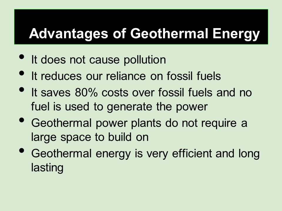 Does Geothermal Energy Cause Pollution Energy Etfs