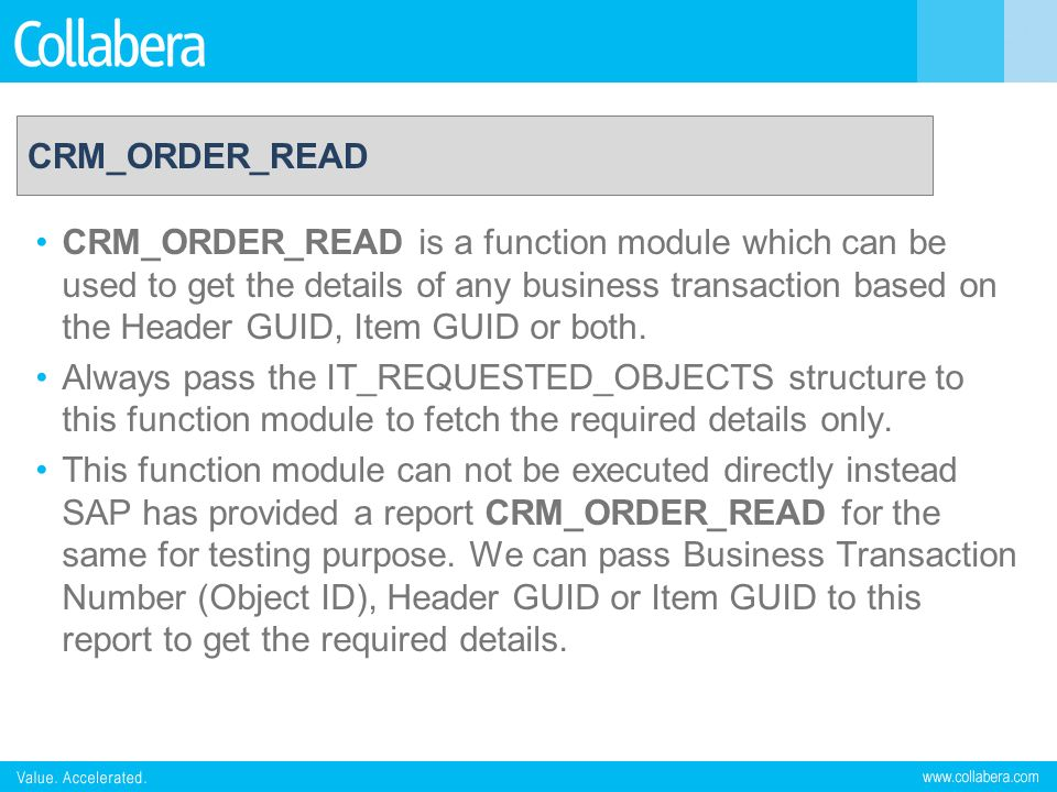 CRM_ORDER_READ
