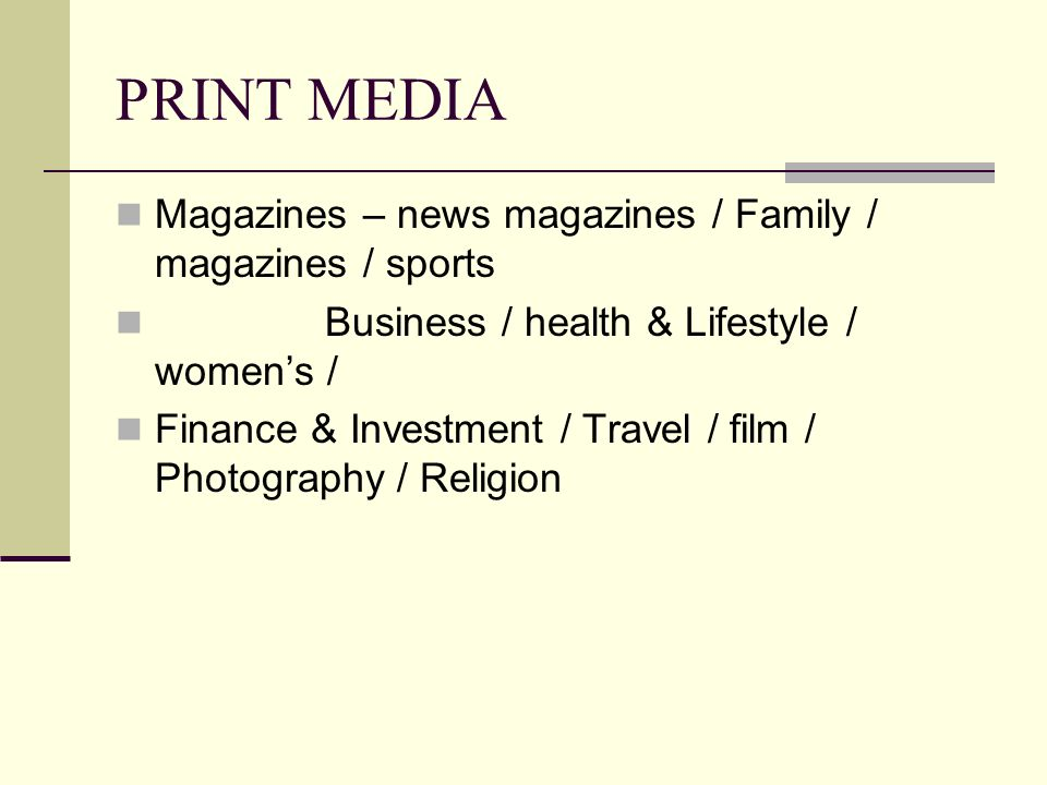 Media Types And Chrs Ppt Video Online Download
