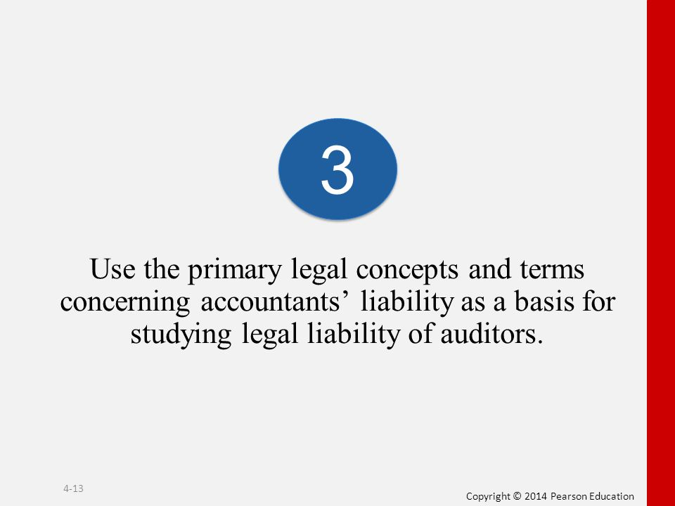 a report on the liability of auditors An auditor's report is issued as part of a company's annual report, and opines on whether the company's financial statements comply with gaap the investor will key in on the third paragraph, where the opinion is stated a majority of audits end in unqualified, or clean, opinions.