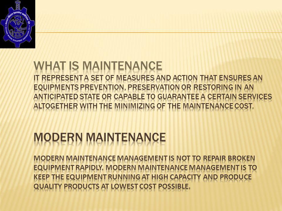 Modern Maintenance  Management - ppt video online download