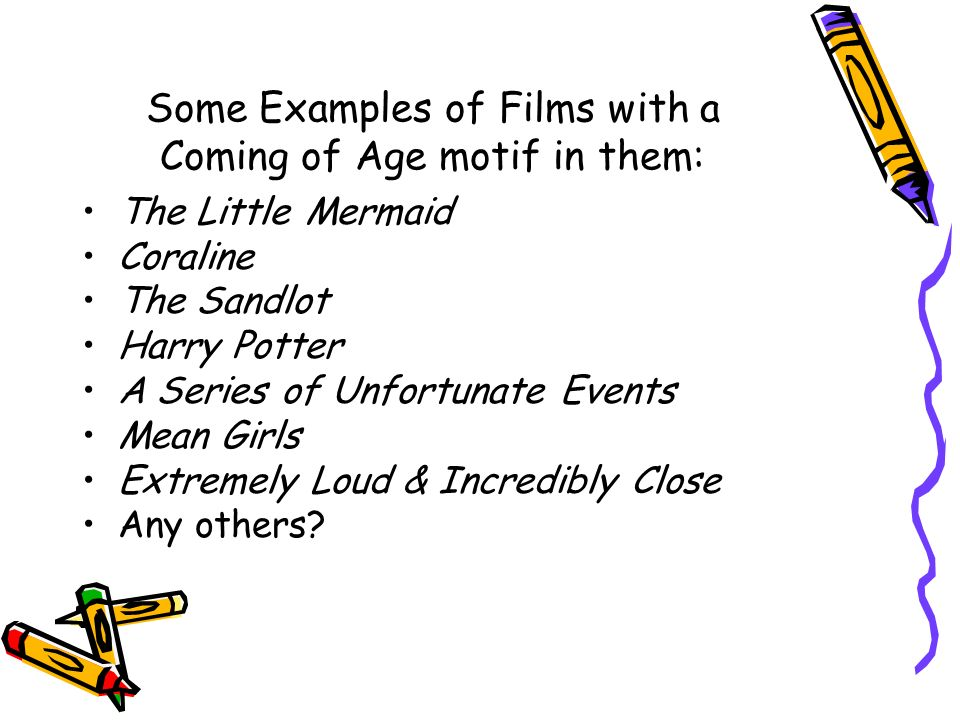 coming of age examples