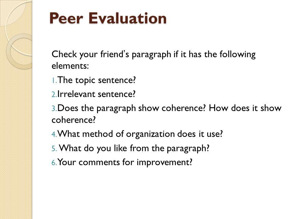 topic sentence checker