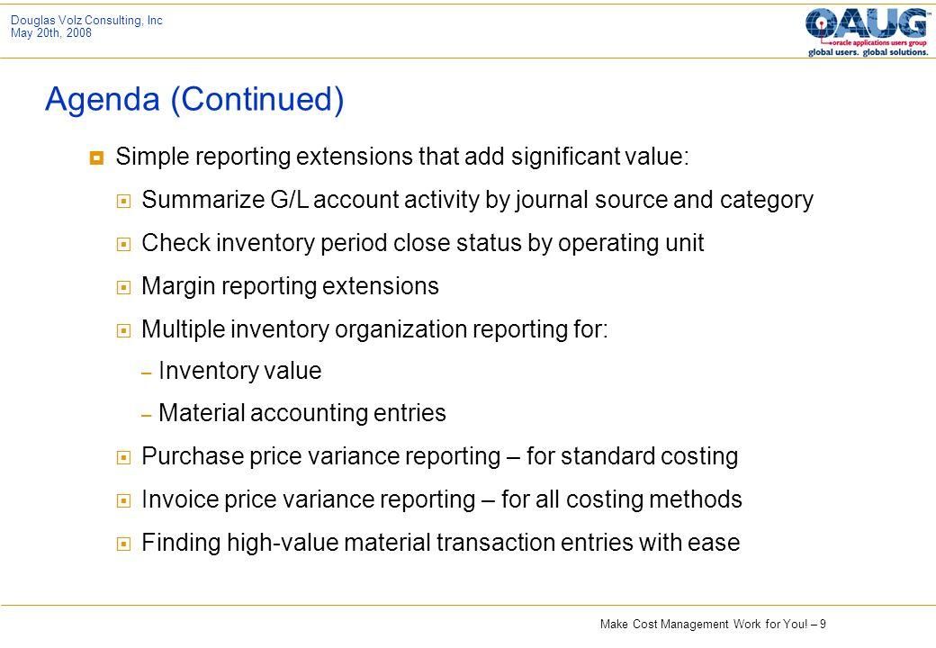 OAUG Discrete MFG Cost SubCommittee Presentation Ppt Download - Check invoice price