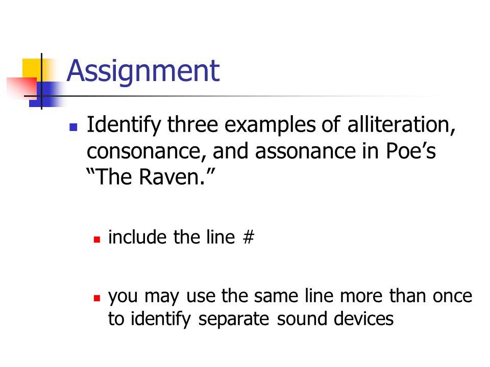 Alliteration Consonance Assonance Ppt Video Online Download
