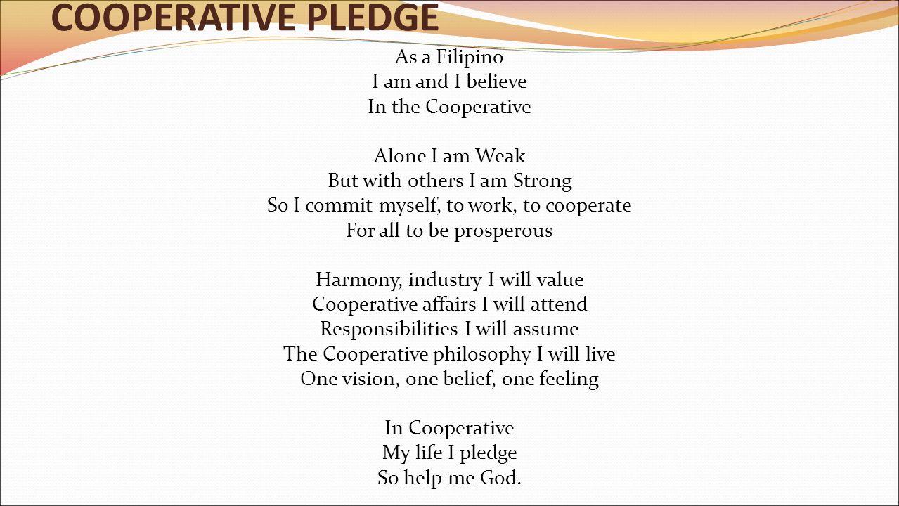 as a filipino