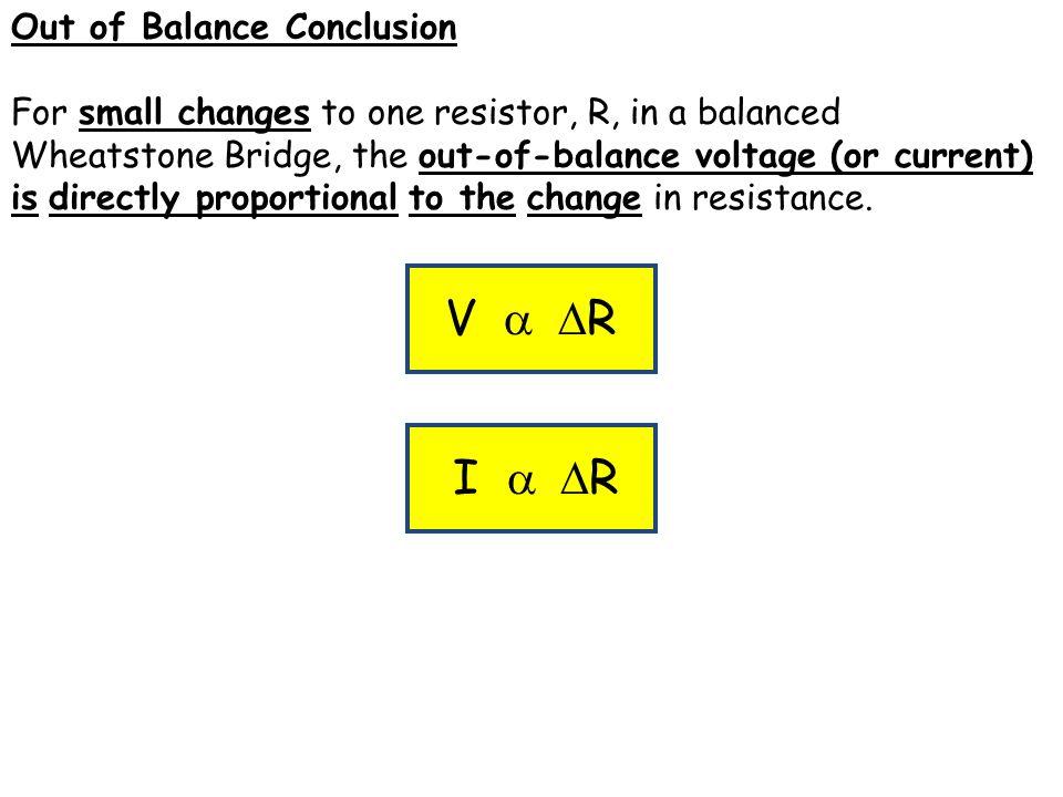 wheatstone bridge conclusion