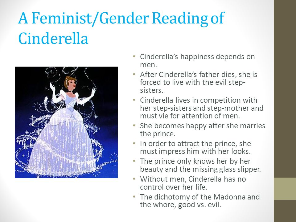 cinderella gender roles