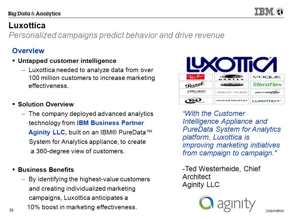 Big Data & Analytics Business Partner Case Studies - ppt download