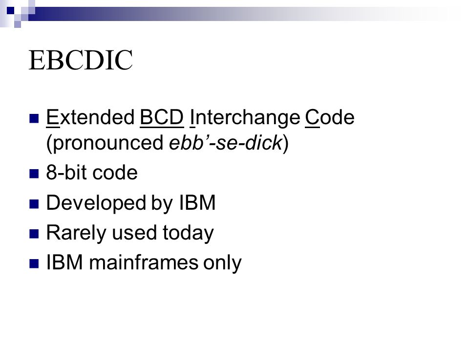ASCII AND EBCDIC CODES By : madam aisha  - ppt video online