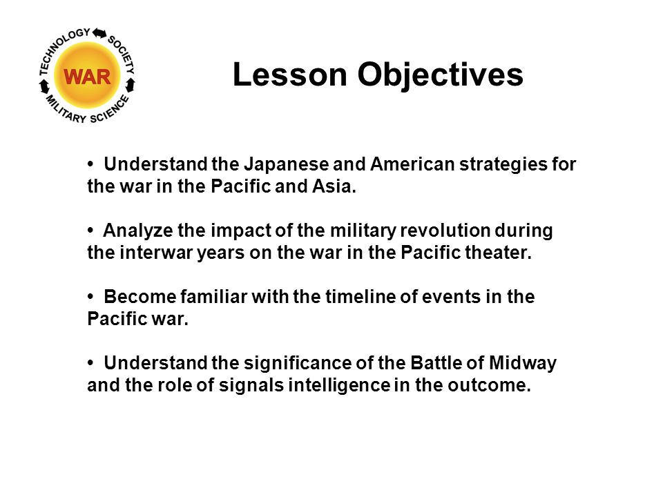 WW II: The Pacific – Turning the Tide - ppt download