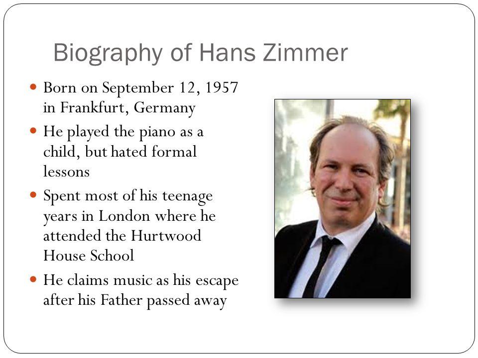 hans zimmer date of birth